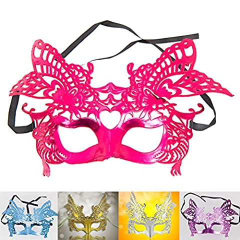 Masquerade Masque Dor - NUOLUX Mascarade masque Party or Couronne bal