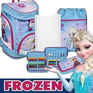 Undercover frzh7551scooli Mochila Escolar twixter Up Frozen, modelo 2017