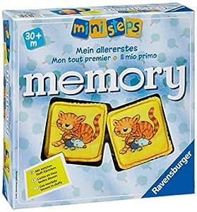 Ravensburger 04386 6 - Il Mio Primo Memory, Ministeps