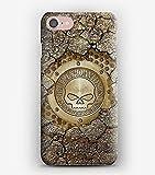 Case Cover Schutzhülle für iPhone X, 8, 8+, 7, 7+, 6S, 6, 6S+, 6+, 5C, 5, 5S, 5SE, 4S, 4, Harley Davidson in a wall