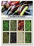 Churrasco do Brasil – 8 Gewürze für brasilianische Grillspieße mit Kräuter-Pfeffersoße (40g) – in einem schönen Holzkästchen – mit Rezept und Einkaufsliste – Geschenkidee für Männer und Feinschmecker – von Feuer & Glas