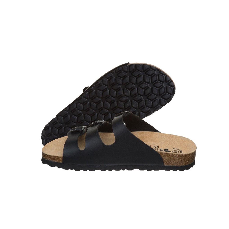 Lico Bioline Lady Damen Pantolette Sandale Hausschuh Gartenschuhe schwarz