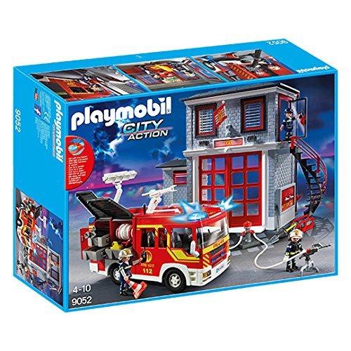 Playmobil - 9052 - Mega Set Pompiers - City Action