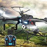 Showkoo H28C 2.4G 4 canales 6-Axis Gyro de control remoto aviones no tripulados Quadcopter con 2MP HD de la cámara sin cabeza Modo RC cuadricóptero