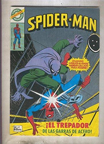 Comics Bruguera: Spiderman numero 17 (numerado 1 en trasera)
