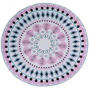 OOTB - Toalla de Playa, diseño de Mandala, Color Rosa