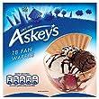 Askeys Pompadour Luxury Fan Wafer Biscuits 18 per pack