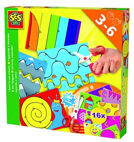 SES Deutschland 14809 - Juego creativo para aprender a recortar [Importado de...