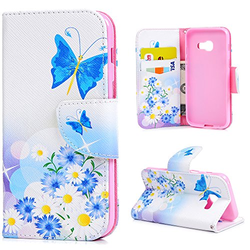 kasos-galaxy-a5-2017-leather-case-flip-wallet-case-noble-blue-butterfly-light-flower-yellow-bud-cove