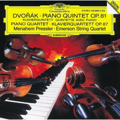 Dvorák: Piano Quintet, Op. 81 / Piano Quartet, Op. 87