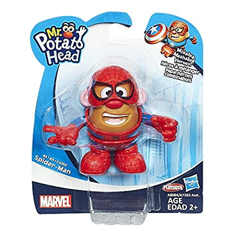 Playskool – Marvel – Mr. Potato Head – M. Patate Spider-Man – Mini Figurine 8 cm