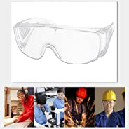Clear Safety Goggles Eye Protection Protective Lab Anti Fog Work Glasses