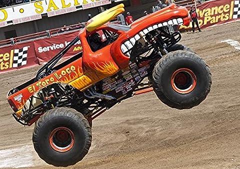 Monster Truck EL TORO–meilleure qualité photo poster. Véritable. Amazing Décoration pour mur. Taille A3