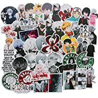 Japan Anime Tokyo Ghoul Laptop Stickers for Adult,Water Bottle Travel Case Car Skateboard Motorcycle Bicycle Luggage Guitar Bike Decal (Tokyo Ghoul)