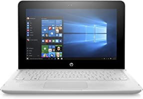 HP Stream 11-ag001ne Laptop, Celeron-N3060, 11 Inch, 32GB eMMC, 4GB RAM, Intel HD Graphics, Win 10, Eng-Ara KB, White