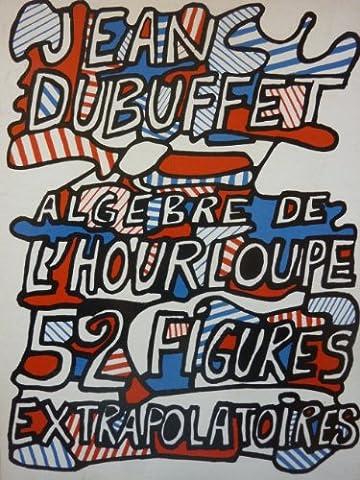 Jean Dubuffet : Algèbre de l'Hourloupe - 52 figures extrapolatoires. Réalisé par B.P. Grimaud, maître-cartier à Nancy