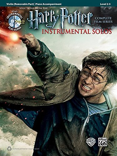 Harry Potter Instrumental Solos for Strings: Violin (Book & CD) (Pop Instrumental Solo) by Staff, Alfred Publishing (2012) Paperback