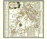 Historische Karte: Amt BORNA, 1758 [Plano]: KURFÜRSTENTUM SACHSEN  LEIPZIGER KREIS
