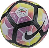 Nike Strike-Serie A - Ball Unisex, Weiß (White/Purple/Black), 5