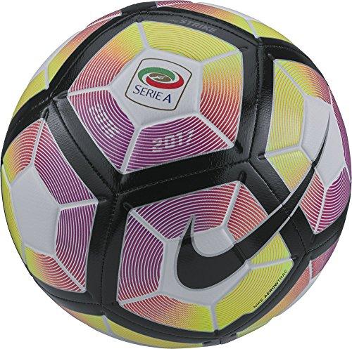 Nike Strike-Serie A Balón, Unisex adulto, Blanco (Blanco / Purple / Negro),...