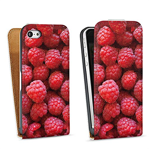 Apple iPhone 4 Housse Étui Silicone Coque Protection Framboise Framboises Framboise Sac Downflip blanc