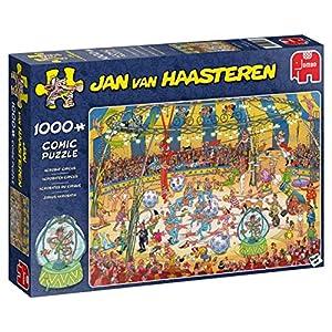 Jan Van Haasteren Acrobate Circus 1000 pcs Puzzle - Rompecabezas (Puzzle Rompecabezas, Comics, Niños y Adultos, Niño/niña, 12 año(s), Interior)