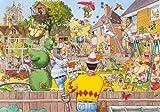 Jumbo Wasgij Original 6 Blooming Marvellous Jigsaw Puzzle (500 Pieces)