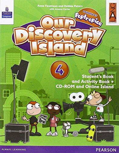 Our discovery island. Per la Scuola elementare. Con CD-ROM. Con e-book. Con espansione online: 4
