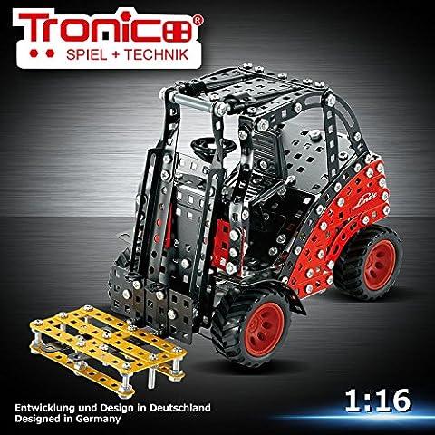 Tronico Metal Construction Model Kit, Linde H30 Forklift truck, 1:16,