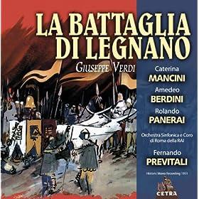 """La battaglia di Legnano : Act 1 """"Voi lo diceste, amiche"""" [Lida]"""