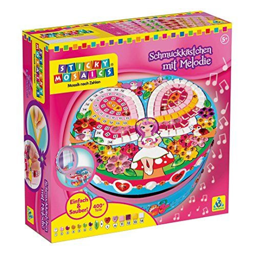 Orb Factory 620126 – Sticky Mosaics Magical Melody Music Box