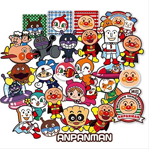 25 Netz Rot Japanische Brot Superman Aufkleber Niedlichen Kinder Koffer Passwort Box Paste Computer Notebook Aufkleber Japanische Brot