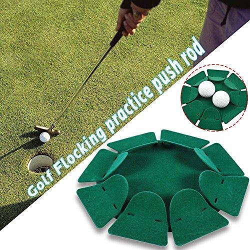 Golf Putting Grün Cup Loch Indoor Outdoor Praxis Ausbildung Ausbildung Aids Übungshilfe