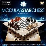 Ajedrez para 4 jugadores. Modular Star Chess The Original. Tamaño 50 x 50 cm