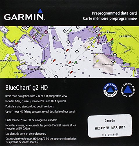 G2 Vision-sd-karte (Garmin BlueChart g2 Vision Kanada Salz-/Süßwasserkarte microSD Karte)
