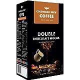 Colombian Brew Coffee Double Chocolate Mocha Instant Coffee, Vegan, No Sugar - 50gm
