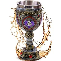 """Cáliz """"Head of the Gothic Dragon"""" - Gárgolas y ornamentos - Décoration gótico fantasía fantástico"""