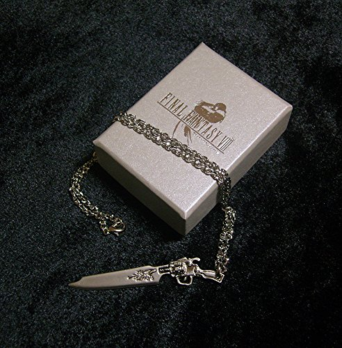Final Fantasy VIII Squall Gunblade Halskett Necklace Griever FF8 Kostüm Cosplay Cloud Sephiroth RPG XV (Ff8 Rinoa Kostüm)