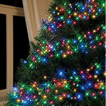 Multi-Colour 960 LED Cluster Christmas Lights: Amazon.co.uk: Kitchen ...