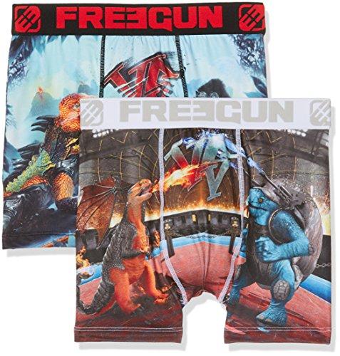 Freegun Herren Boxershorts Mehrfarbig (Multicolor A24)