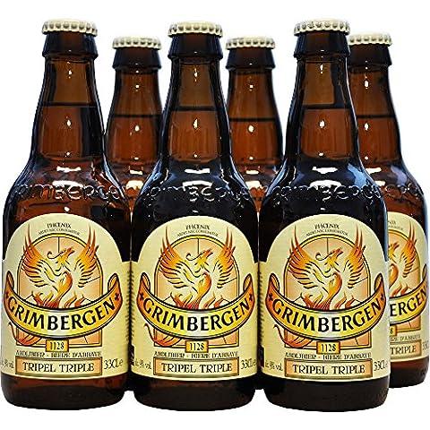 Belgisches Bier Grimbergen Tripel 6x330ml 9%Vol