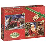 Falcon de luxe All Ready for Christmas Jigsaw Puzzles (2 x 1000-Piece)