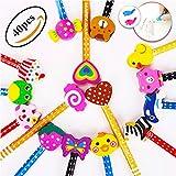 Lápices Infantiles con Borrador de Dibujos Multicolores 40 pcs, KimKo...