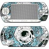 """Sony PSP-E1000 / E1004 Designfolie """"Blue Totem"""" Skin Aufkleber für PSP-E1000 / E1004"""