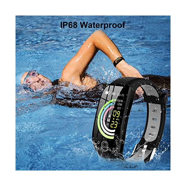 Tipmant Smartwatch, Relojes Inteligentes Mujer Hombre Niños Impermeable IP68 Pulsera Actividad Inteligente con… 7