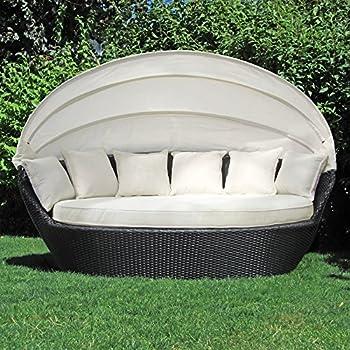 Amazon.de: JOM Sonneninsel, Polyrattan Garten Lounge, Chill-Out ...