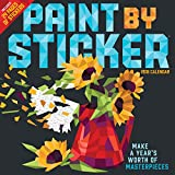 Paint by Sticker Wall Calendar 2018