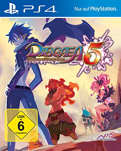 Disgaea 5: Alliance of Vengeance (PS4) DE-Version