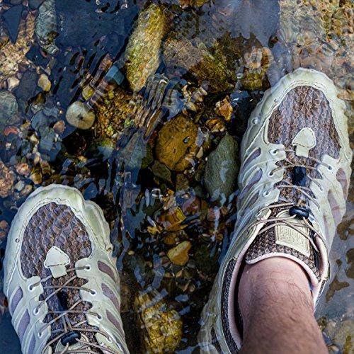 Soldato Allaperto Mens Allaperto Traspirante Leggero Campeggio Escursionismo Scarpe Sportive Sabbia