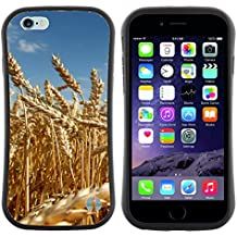 "Super Galaxy iFace Series Tpu Silicona Carcasa Funda Case // V00005514 campo de trigo amarillo madura // Apple iPhone 6 4.7"""